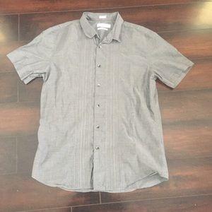 Calvin Klein Slim Fit Button Front Shirt